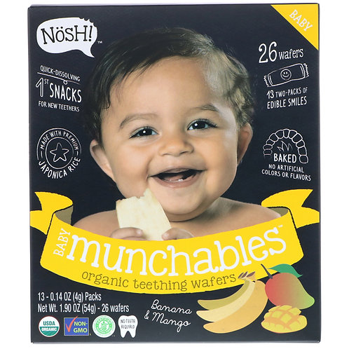 Nosh! Munchables Banana and Mango 1.90 oz