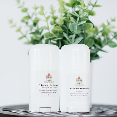 Lizzie All Natural Products Deodorant