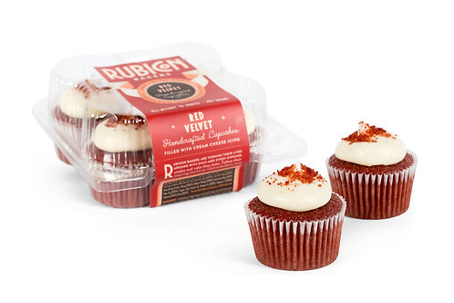 Rubicon Bakery, Cupcake Red Velvet 10oz