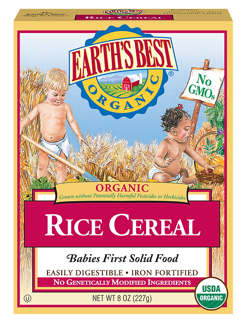 Earth Best Rice Cereal