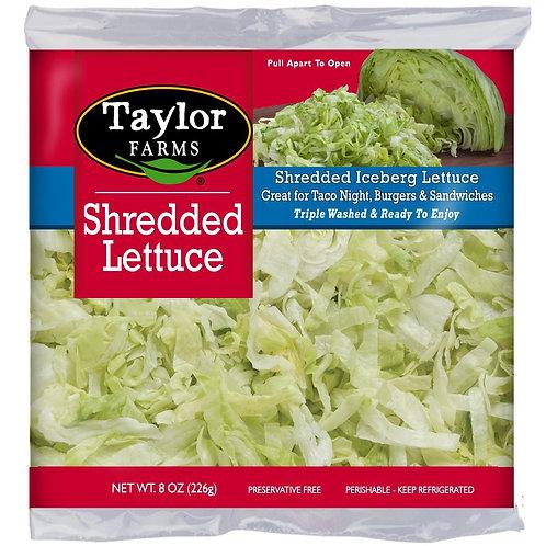 Taylor Farms Shredded Lettuce 8oz