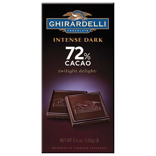 Ghirardelli Intense Dark 72% Cacao 3.5 oz