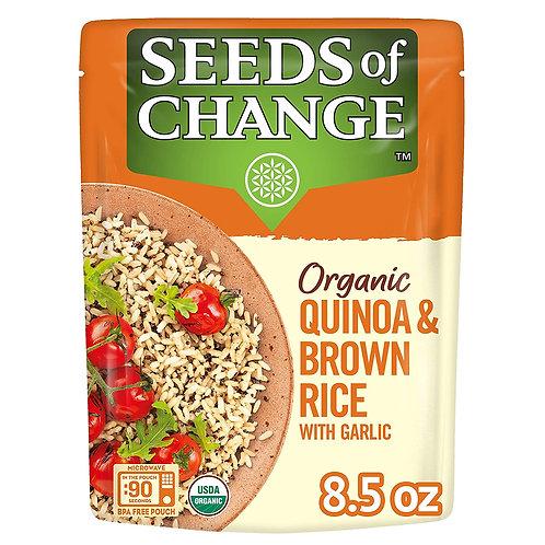 Seeds Of Change Organic Quinoa & Brown Rice 8.5 oz