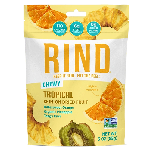 Rind Chewy Tropical Dried Fruit 3oz