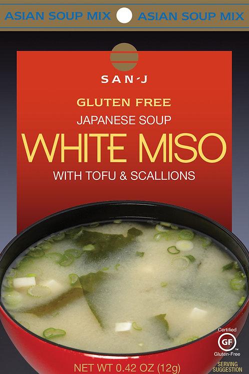 San J White Miso with Tofu and Scallions