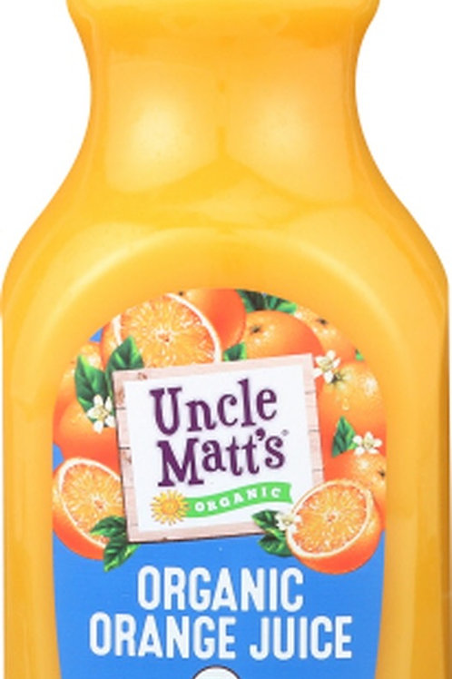 Uncle Matts Orange Juice Calcium C and Vitamin D 59oz