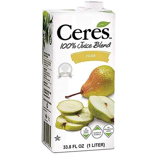 100% Pear Juice 33.8 oz