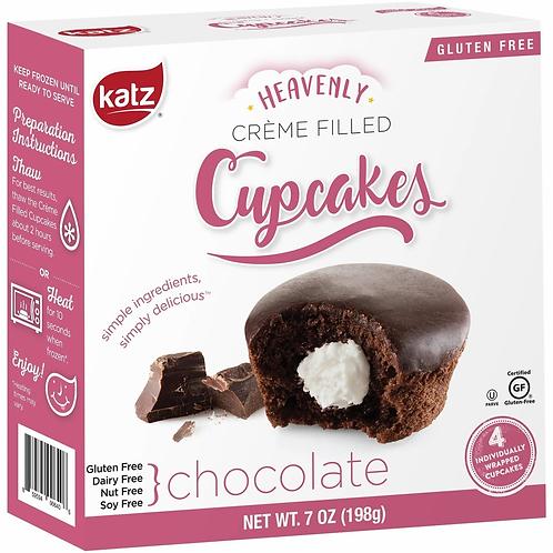 Katz Heavenly Cupcakes Chocolate 7oz