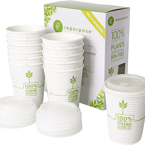 Repurpose Cup With Lids/ 12oz