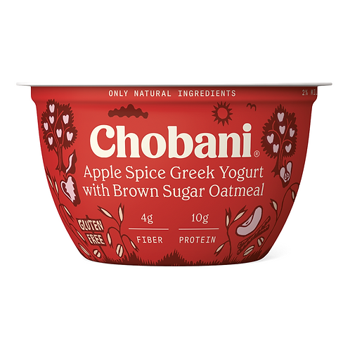 Chobani Apple Spice Greek Yogurt