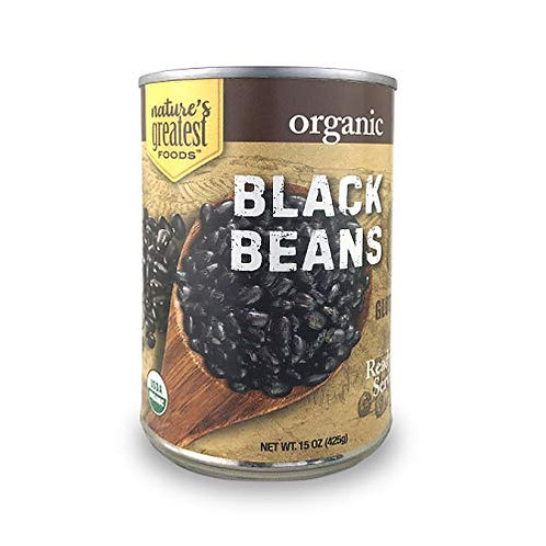 Nature's Greatest Foods Black Beans 15oz