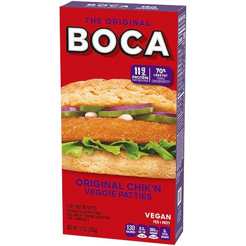 Boca Original Chicken Veggie Patti 10 oz