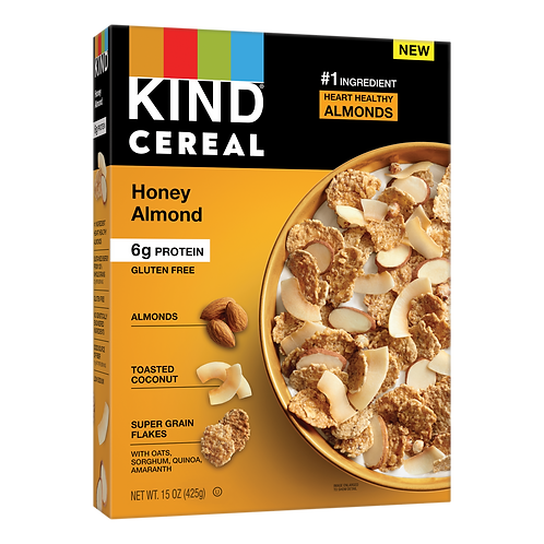 Kind Cereal Honey Almond