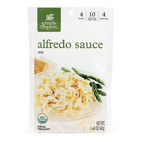 Simply Organic Alfredo Sauce