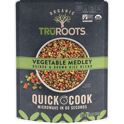 TruRoots Vegetable Medley Quinoa Rice 8.5 oz