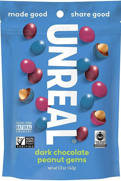 Unreal Dark Chocolate Peanuts 5.0 oz