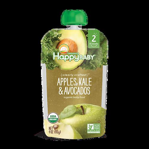 Happy Baby Apple, Kale and Avocado 4oz