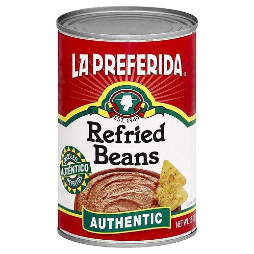 La Preferida Refried Beans