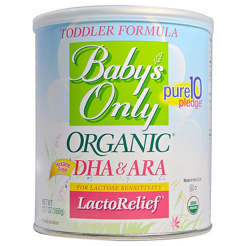 Baby Only Toddler Formula Lacto Relief