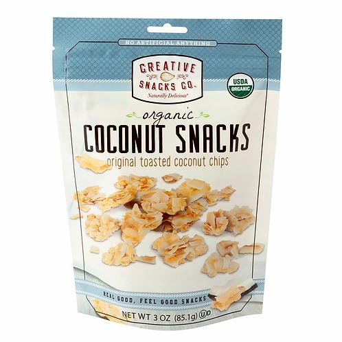 Creative Snacks.Co Coconuts Snacks 3oz