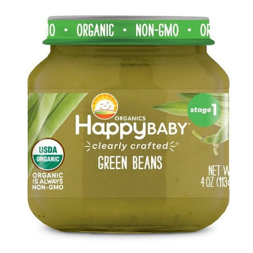 Happy Baby Green Beans 4oz