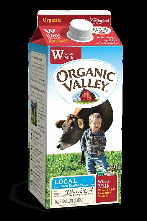 Whole Milk Organic Valley 32oz