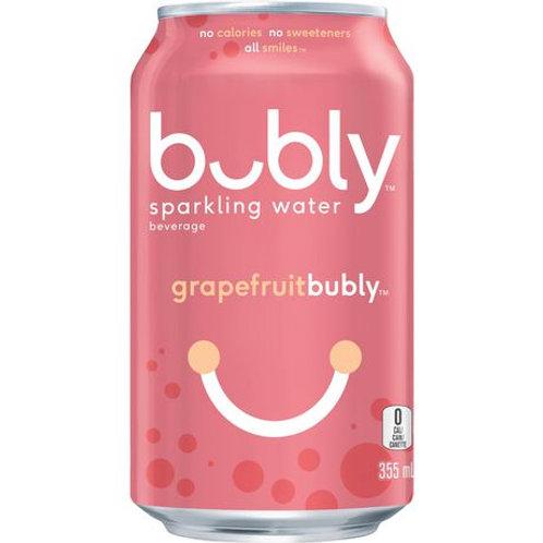 Bubly Sparkling Water Grape Fruit 4PK 12oz