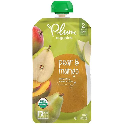 Plum Organi/ Pear and Mango
