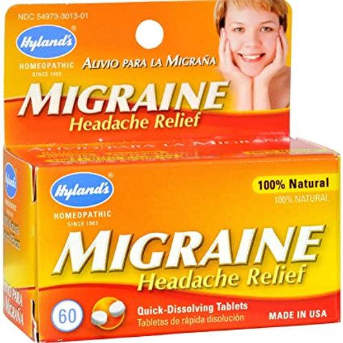 Hylands Migrane Headache Relief 60 Count
