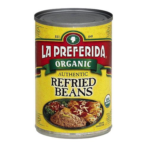 La Preferida Organic Refried Beans 15oz