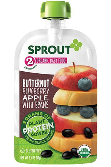 Sprout Pak Butternut Apple with Beans 3.5oz