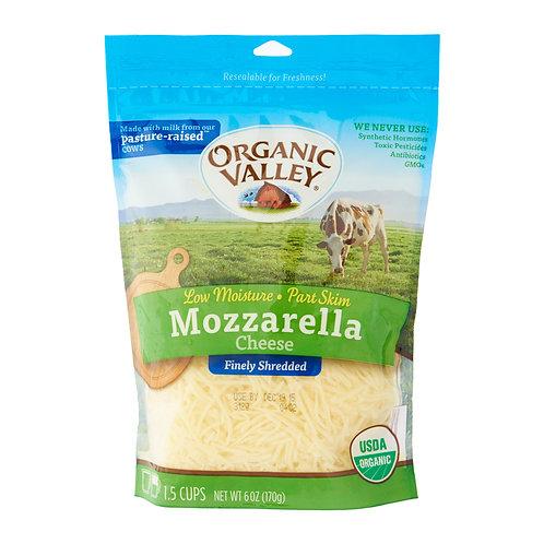 Organic Valley Mozzarella Cheese 6oz