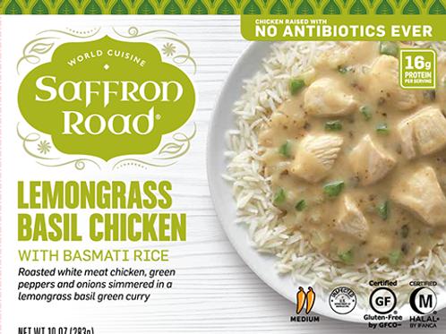 Saffron Road Lemongrass Basil Chicken 10 oz