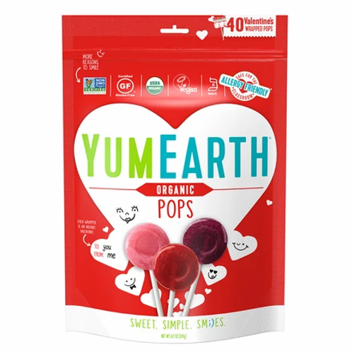 Yum Earths Organic Pops 9.4 oz