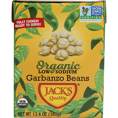 Jack Quality Garbanzo Beans