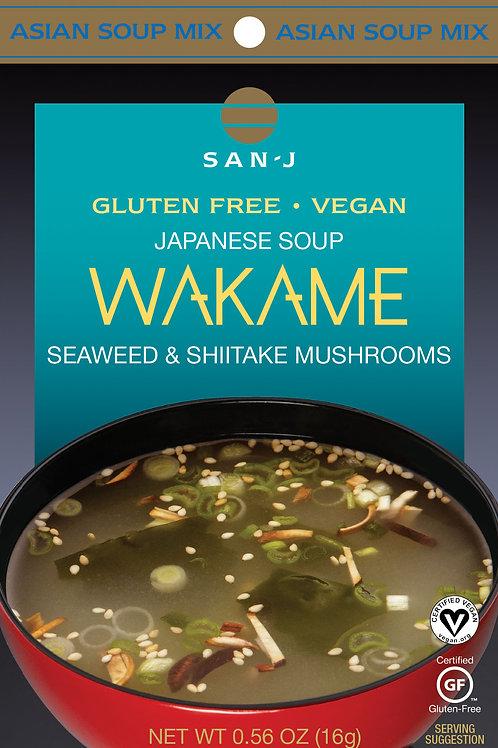San J Wakame Seaweed and Shiitake Mushrooms
