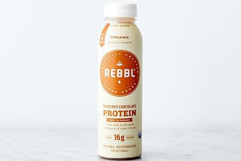 Rebel Hazelnut Chocolate Protein Drink 12oz