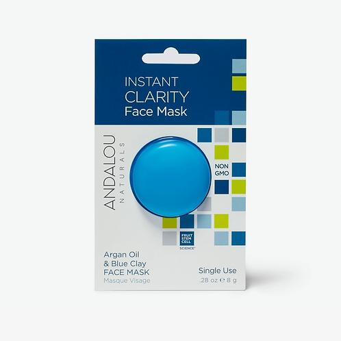Andalou Argan Oil and Blue Clay Face Mask .28 oz