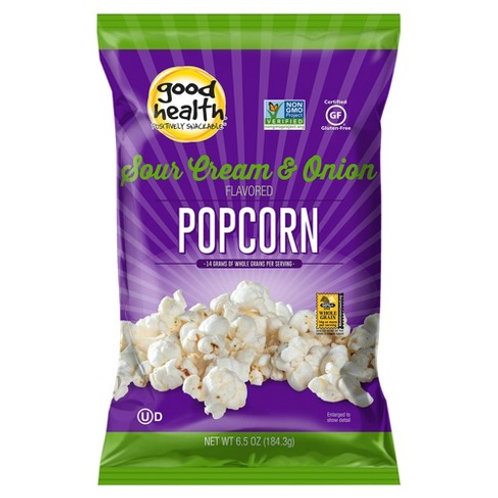 Good Health Sour Cream and Onion Popcorn 6.5 oz