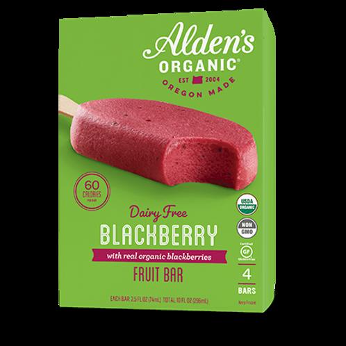 Alden's Organic Blackberry Fruit Bar 10 oz