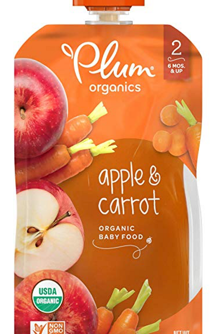 Plum Organic/ Apple Organic