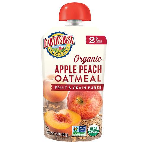 Apple Peach Oatmeal