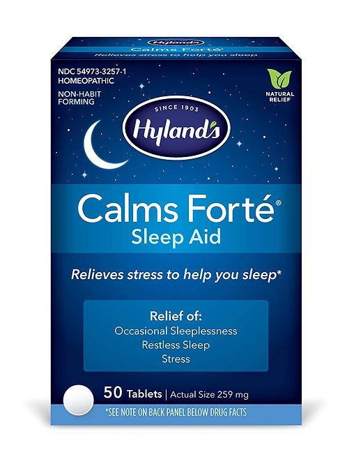 Hylands Calm Fort'e Sleep Aid 50 Tablets