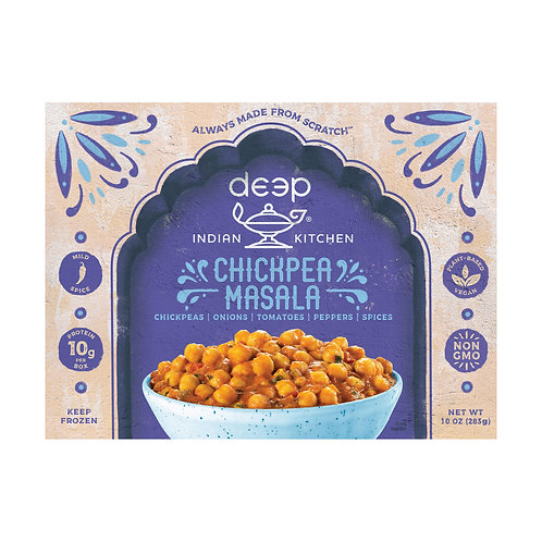 Deep Indian Kitchen Chickpea Masla 10 oz