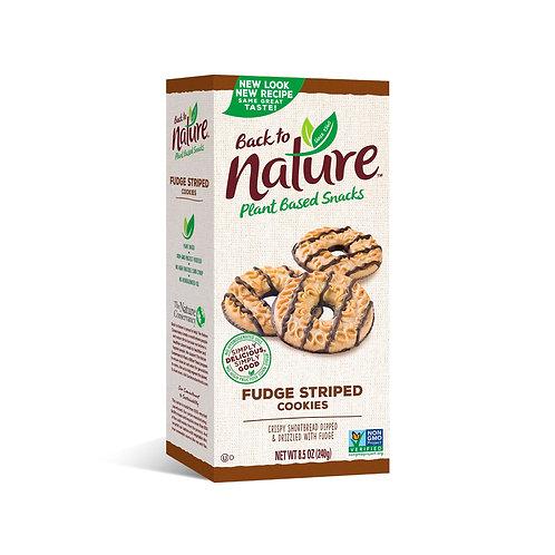 Back to Nature Plant Based Fudge Striped 8.5 oz