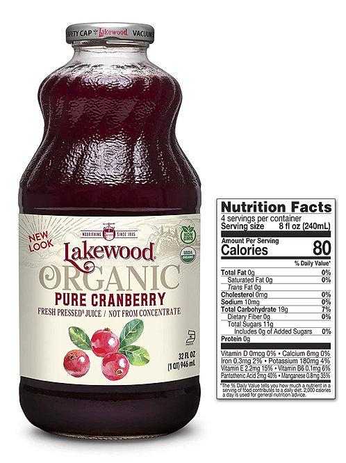 Lakewood Pure Cranberry 32oz