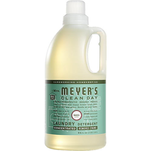 Mrs. Meyers Basil Laundry Detergent 64oz