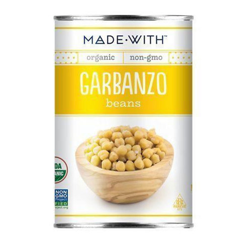 Made With Garbanzo Beans