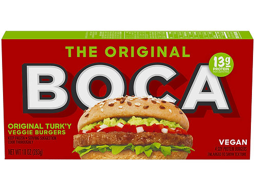 The Original Boca Turkey Veggie Burger
