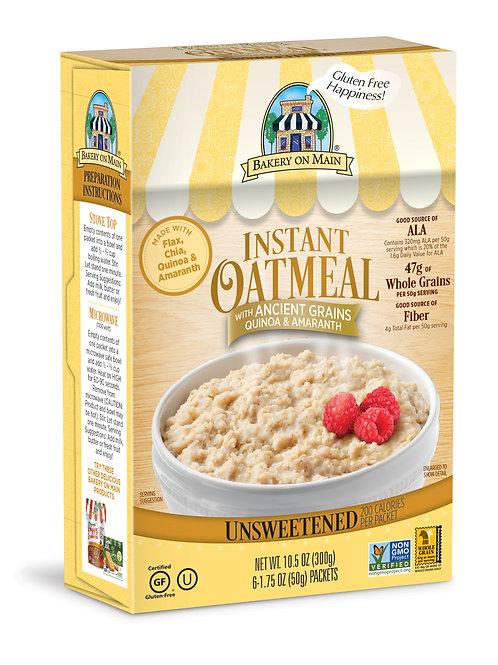 Instant Oatmeal Unsweetend 10.5 oz